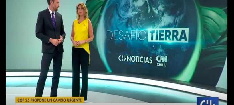 [Chilevisión] Chile es un país más propenso a sufrir las consecuencias del cambio climático.