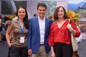 Carolina Albornoz, Emmanuel Rowe y Paulina Maturana Vivero