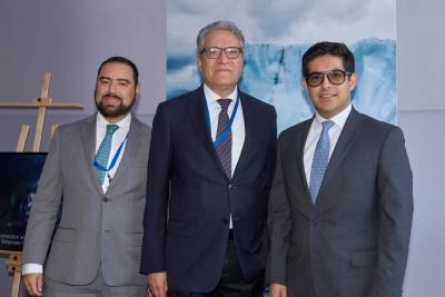 Enrique Romero, Francisco Olavarría y Martín Borrego