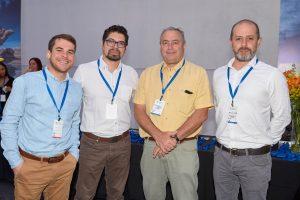 José Manuel Palacios, Daniel Henríquez, Francisco Matus y Cristian Merino