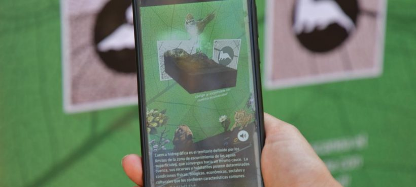 [El Mercurio] Con realidad aumentada enseñan a escolares sobre flora y fauna endémica